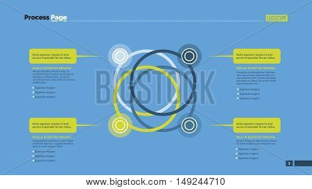 Venn diagram. Element of presentation, graph, diagram. Concept for business templates, infographics, reports. Can be used for topics like business strategy, marketing analysis, planning