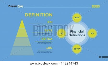 Financial statements Venn diagram. Element of infographics, diagram, pyramid chart. Creative concept for presentation, infographics, report. Can be used for topics like strategy, progress, finance