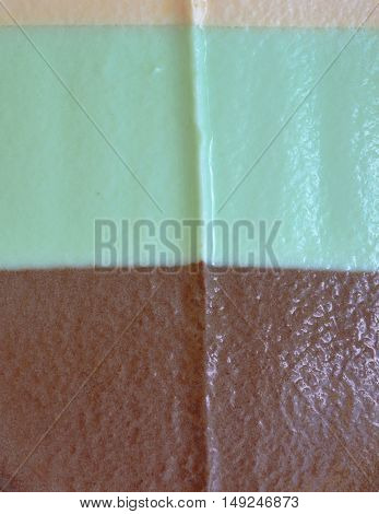 close up of ice cream texture and background