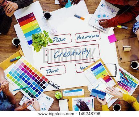 Creativity Fresh Ideas Inspire Concept
