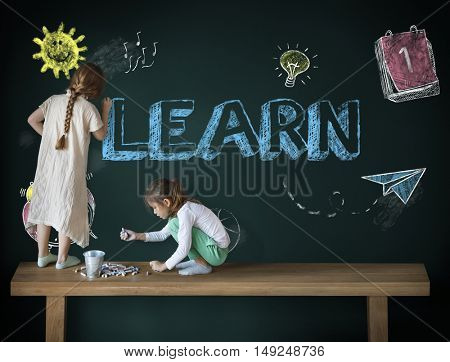 Study Ideas Learn Kids Concept