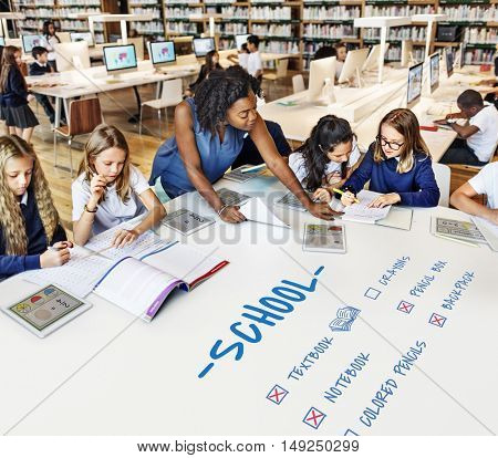 Education Study School Learning Concept