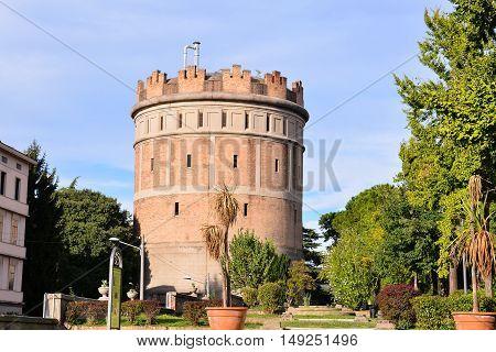 Medieval Aqueduct In Padova