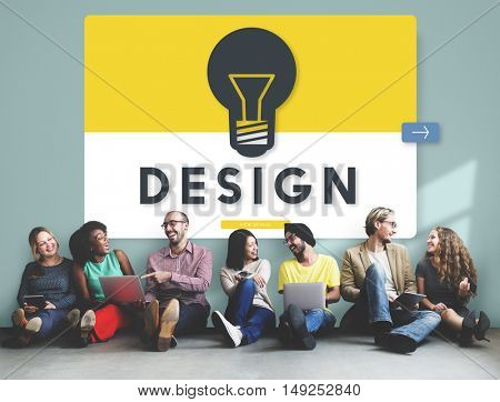 Business People Graphic Design Concept