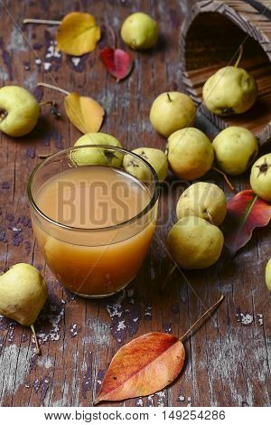 Juice With Pear