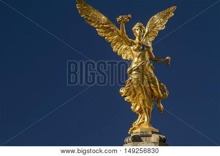 Angel de la Independencia Monument in Mexico City