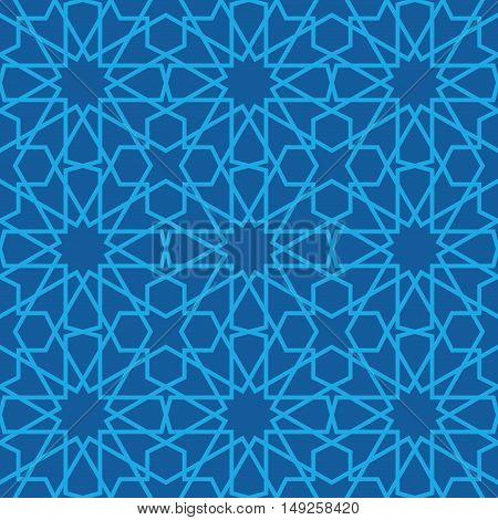 Arabic seamless vector pattern. Traditional moroccan ornament
