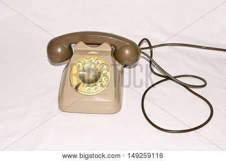 Vintage Old Wheel Telephone