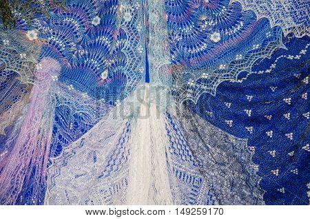 Patterns Of The Orenburg Downy Shawl