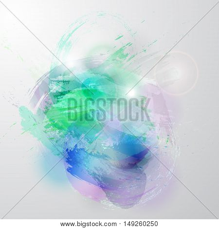 Unique vector background watercolor vector texture on white