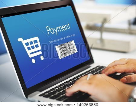 Payment Purchase Order Discount Concept