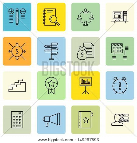Set Of Project Management Icons On Best Solution, Planning, Research And More. Premium Quality Eps10