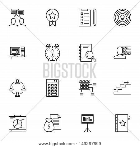 Set Of Project Management Icons On Investment, Award, Statistics And More. Premium Quality Eps10 Vec