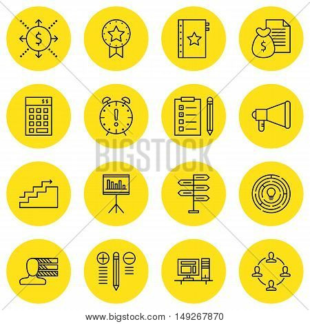 Set Of Project Management Icons On Deadline, Money Revenue, Personality And More. Premium Quality Ep