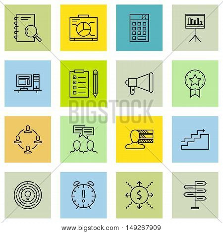 Set Of Project Management Icons On Promotion, Cash Flow, Personality And More. Premium Quality Eps10