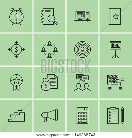Set Of Project Management Icons On Creativity, Charts, Money Revenue And More. Premium Quality Eps10