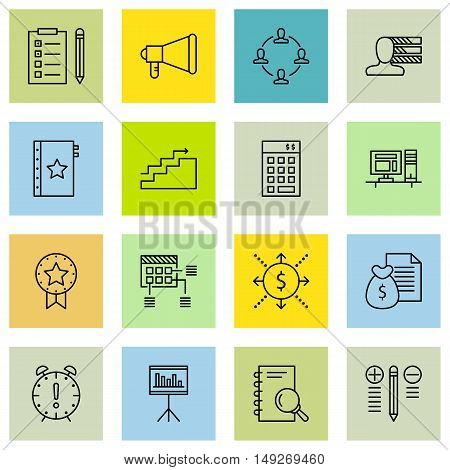 Set Of Project Management Icons On Research, Best Solution, Teamwork And More. Premium Quality Eps10