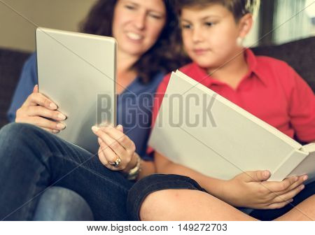 Home School Learning Homework Reading Concept