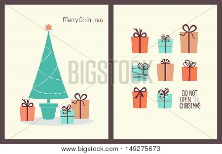 Christmas Greeting Cards With Presents