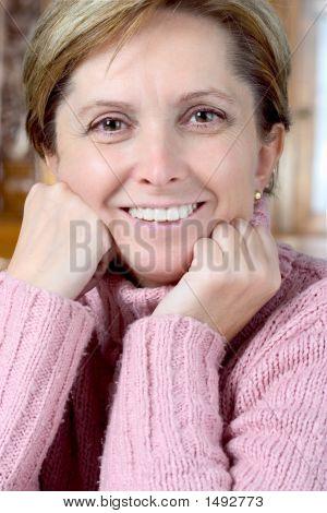 Cheerful Mature Woman