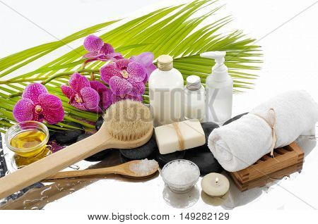Spa Background with spa setting