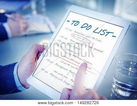 Calendar Agenda Event Meeting Reminder Schedule Graphic Concept