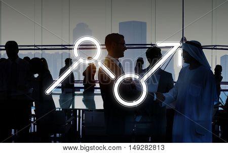 Finance Rise Profit Opportunities Economics Business Concept