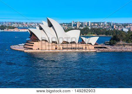 Sydney Opera House. Sep 28,2016 Sydney Opera House Sydney,Australia is famous art center.Over 10 millions tourists visit Sydney a year
