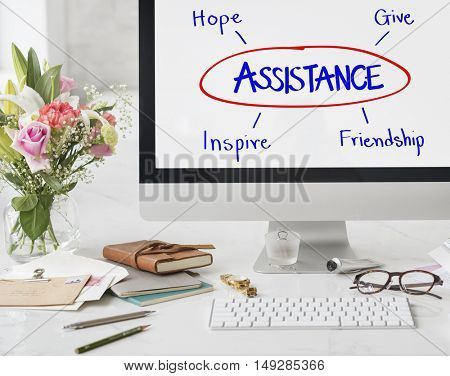 Assistance Support Care Help Concept