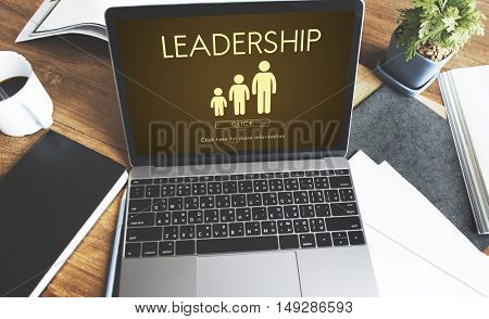 Leadership Management Leader Director Leader Concept