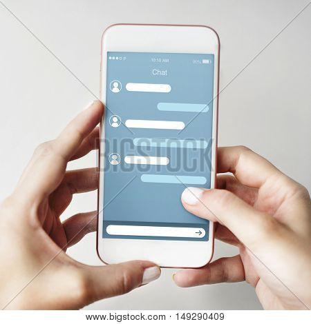 Chat Conversation Communication Connection Concept