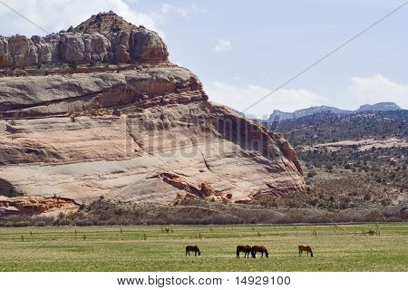 Utah rock monuments and mountains close to Moab