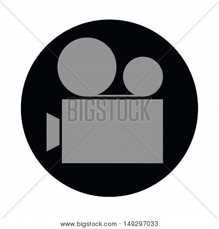 The sign of video camera icon for something
