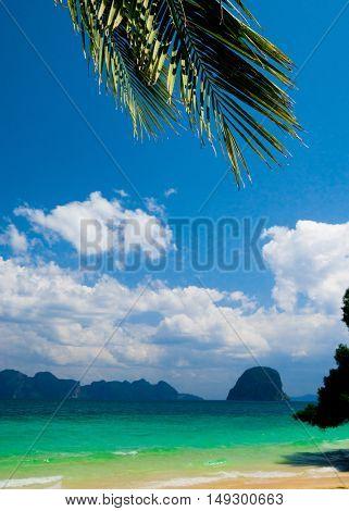 Idyllic Coast Green View