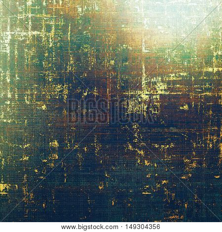 Retro vintage colored background with noise effect; grunge texture with different color patterns: yellow (beige); brown; green; blue; purple (violet); black