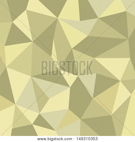 Geometric pattern. Abstract ornament for wallpapers and backgrounds. Golden pattern