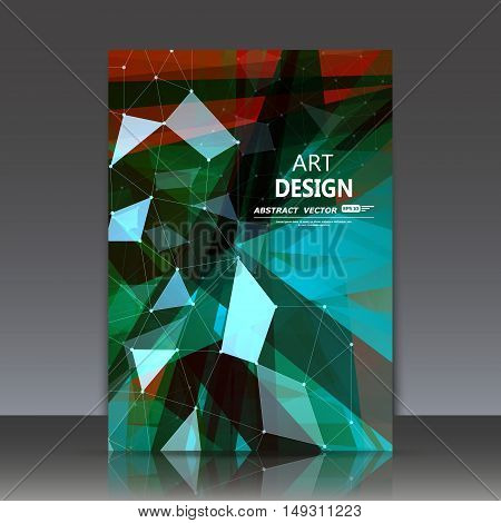 Abstract Composition, Substance Macromolecule, Chemical Element Particle, Bio Research Magazine Head