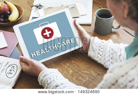 Healthcare Medical First Aid Concept