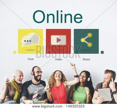 Online Social Network Connection Internet Concept