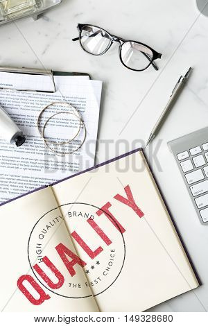 Business Quality Assurance Exclusive Concept