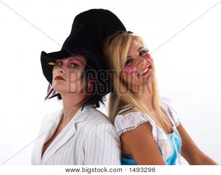 Girls In Costumes