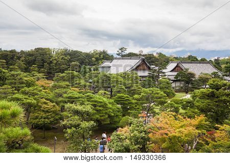 Holiday in Japan - Summer Autumn Transit in Nijo Castle Kyoto and The Emperor Garden