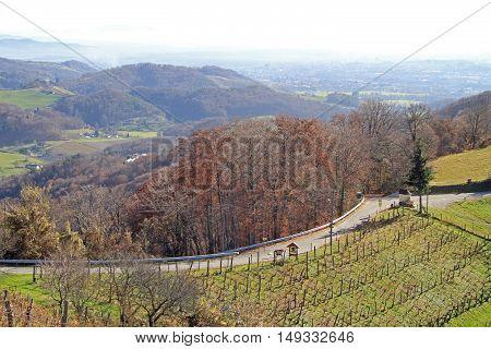 Slovenian Countryside Nearly City Maribor