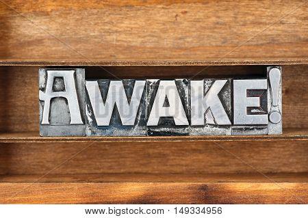 Awake Word Tray