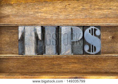 Tips Word Tray