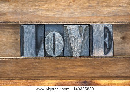 Love Word Tray