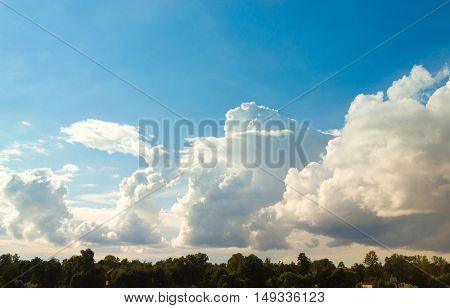 Cloudy Outdoor Summer Sun