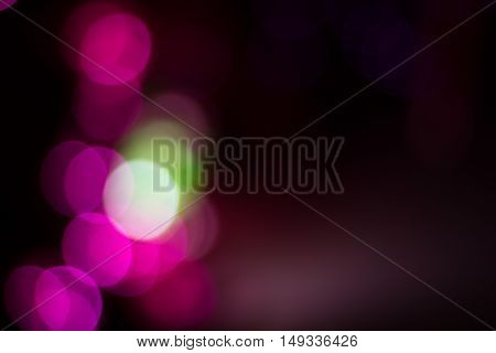 Blurred lights from chrismas tree for abstract background