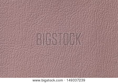 Light brown leather texture background with pattern closeup.