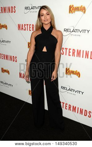 LOS ANGELES - SEP 26:  Zulay Henao at the